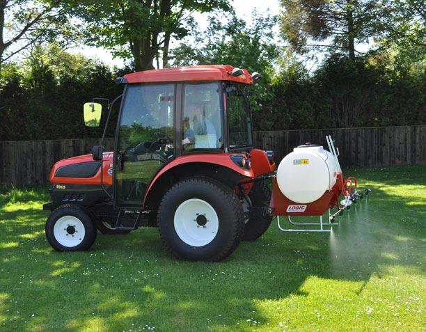 Sproeier tractor