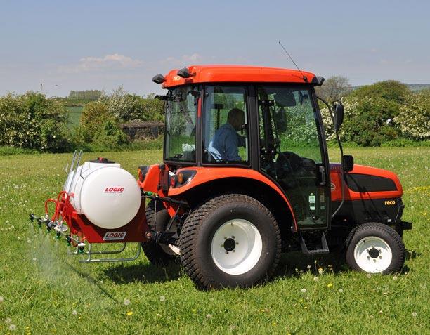 Elektrische spuit tractor