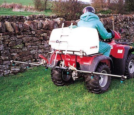 Spuit voor quad 135 liter