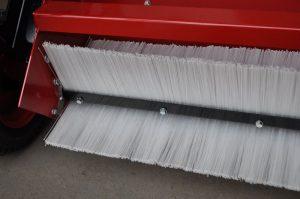 Veegbladen veegmachine