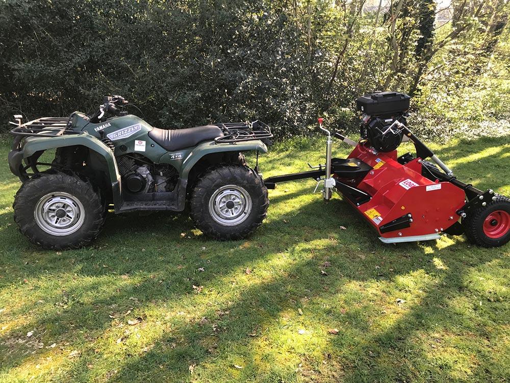 MFP320 klepelmaaier quad